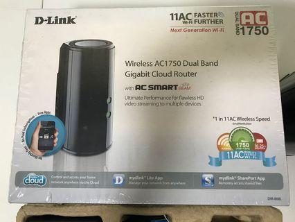 🚚 D-Link Wireless Router AC1750