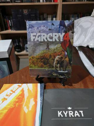 Far Cry 4 Limited Steelbook, Poster, and Map