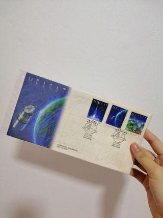 Malaysia Measat 1996 First Day Cover