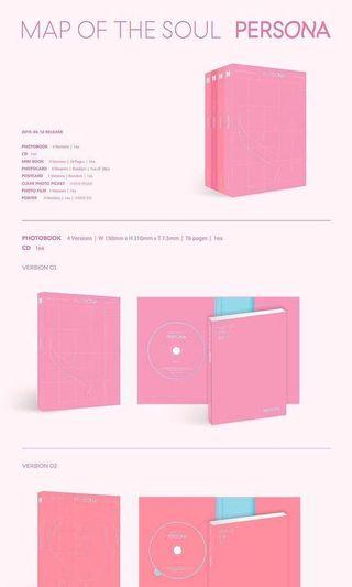 [PO COMPLETE] BTS MAP OF THE SOUL: PERSONA