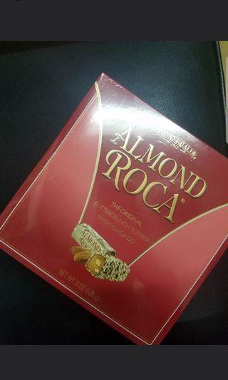 Brown & Hailey almond roca