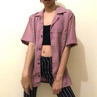 summer shirt kemeja stripe #1 unisex