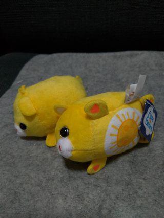 Authentic Care Bears Funshine Bear Beanie Plush Toy
