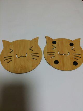 貓咪隔熱墊(10個)