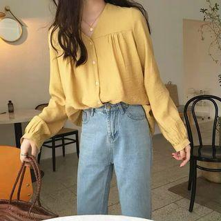 JOANNE BUTTON BLOUSE