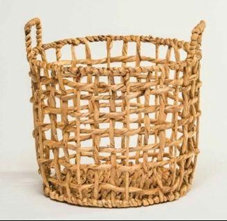 Nordic Handmade Straw Basket / Plant Pot
