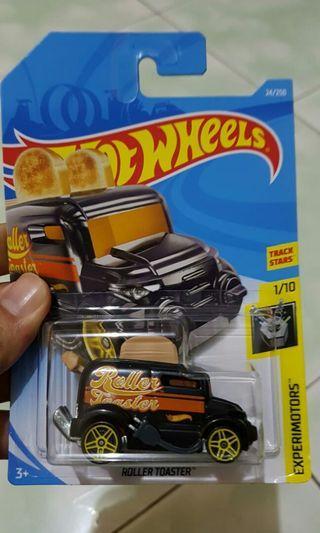 Diecast hot wheels roller toaster