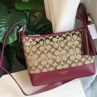 【Sale】 Coach shoulder bag Maroon