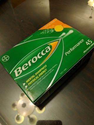 🚚 Unopened Berocca effervescent tablets