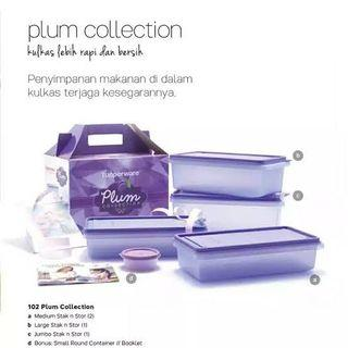 Tupperware Plum Collection Set