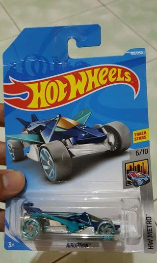 Diecast hot wheels airuption