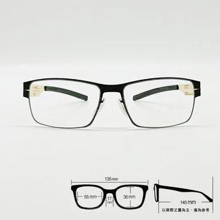 💎德國工藝💎[檸檬眼鏡] ic! berlin Ronald C 024 t02輕量高彈性無螺絲 光學眼鏡-3