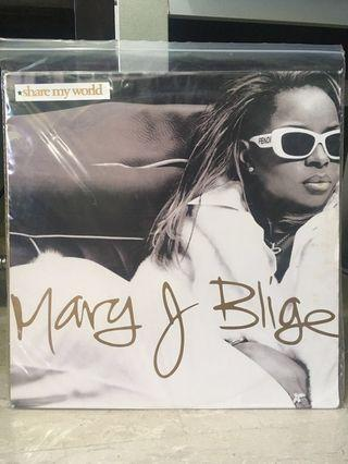 Mary J Blige - Share My World Vinyl LP