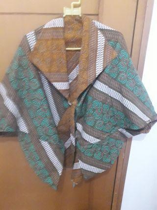 Outer Cardigan Semi Formal Luaran Batik