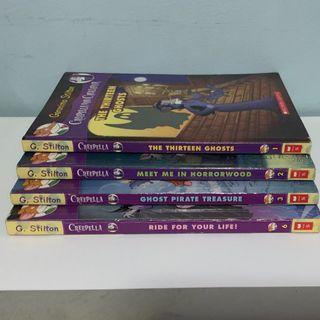 Creepella Von Cacklefur(Geronimo Stilton)-Books