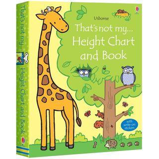(BN) Usborne: That's Not My…Height Chart and Book