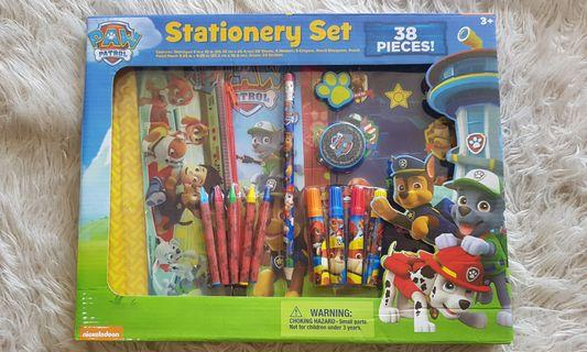 Paw Patrol Stationery Set - 38 Pieces