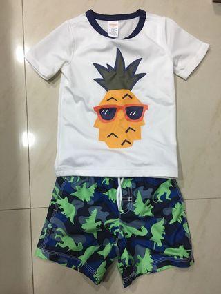🚚 Gymboree 3t 男童泳衣褲