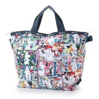 Sold Out Moomin Lesportsac Tote Bag Handbag Shoulder Sling