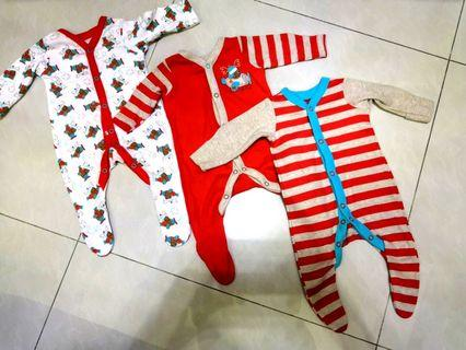 New Mothercare Sleepsuits