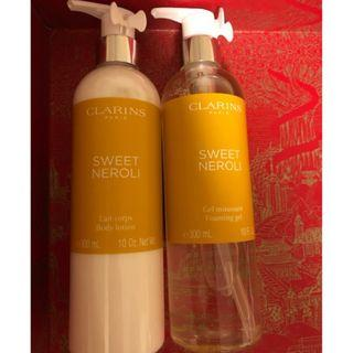 CLARINS FOAMING GEL , BODY LOTION (包郵費)