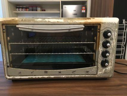 Electric Oven Butterfly Model B-5255A