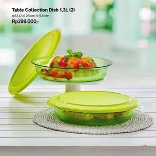 Tupperware Table Collection Dish (2)