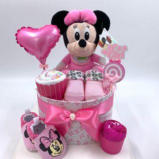 Ready stock! Minnie Diapers Cake