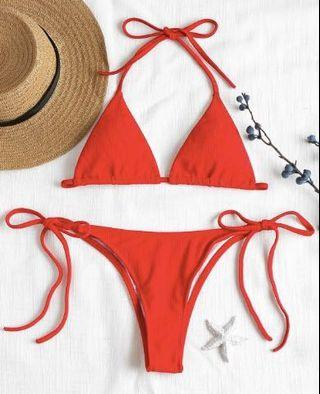 ZAFUL red triangle bikini *PRICE REDUCED*