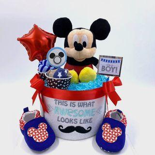 Ready stock! Micky Diapers Cake