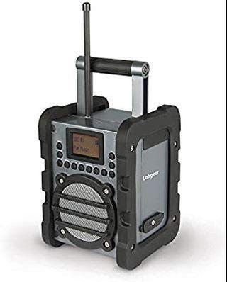 Labgeat worksite DAB radio