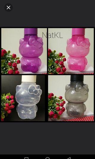 NEW Ori Tupperware Hello Kitty (4pcs) Bottle