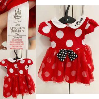 ORIGINAL DISNEY BABY COSTUME GOWN: MINNIE MOUSE
