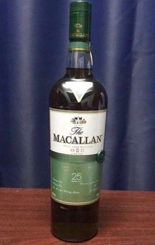 MACALLAN 25. 冇盒