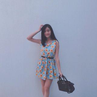 F BLOCK Sunflower Dress