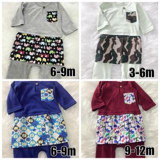 Discount BN Baju Melayu Romper