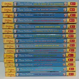 Thea Stilton-Books