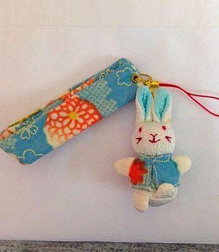 Rabbit Phone charm #SSV8