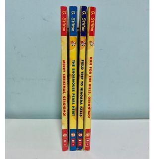 Geronimo Stilton-Books