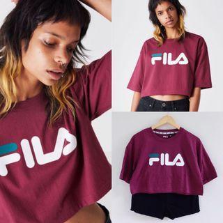 Fila Loose Semi cropped shirt