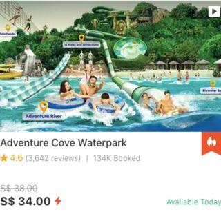 (Discounted) Adventure Cove Waterpark