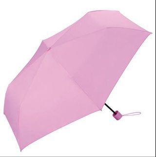 WPC Unnurella日本瞬間滴水不沾縮骨遮 粉紅色