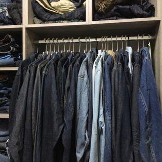 二手 LEVI'S EDWIN LEE 單寧刷色原色牛仔外套 S-XL LEVIS