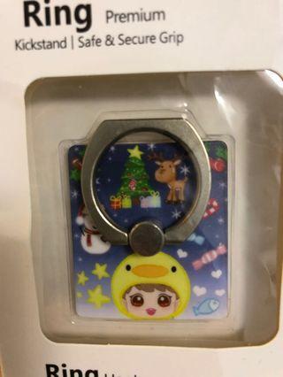 EXO 朴燦烈 chanyeol 飯製手機指環 (外盒有瑕疵)