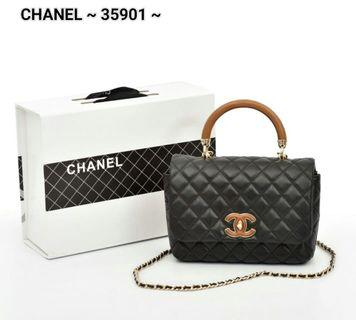Tas Chanel PO.5-7hari. Premium quality of Chanel bag. Size 21x5x13cm. (LIMITED STOCK).