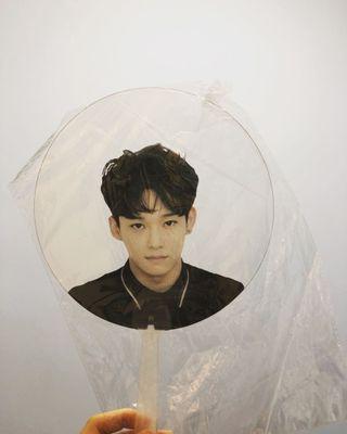 EXO 金鐘大 CHEN 透扇