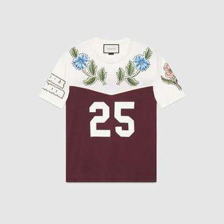 Bnwt Authentic Gucci #25 Jersey Top Tee