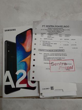 Samsung A20 ori new.