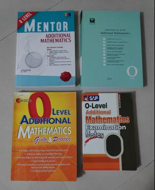 O Level Additional Mathematics Assessments