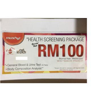 Health Screening Package BP Diagnostic centre